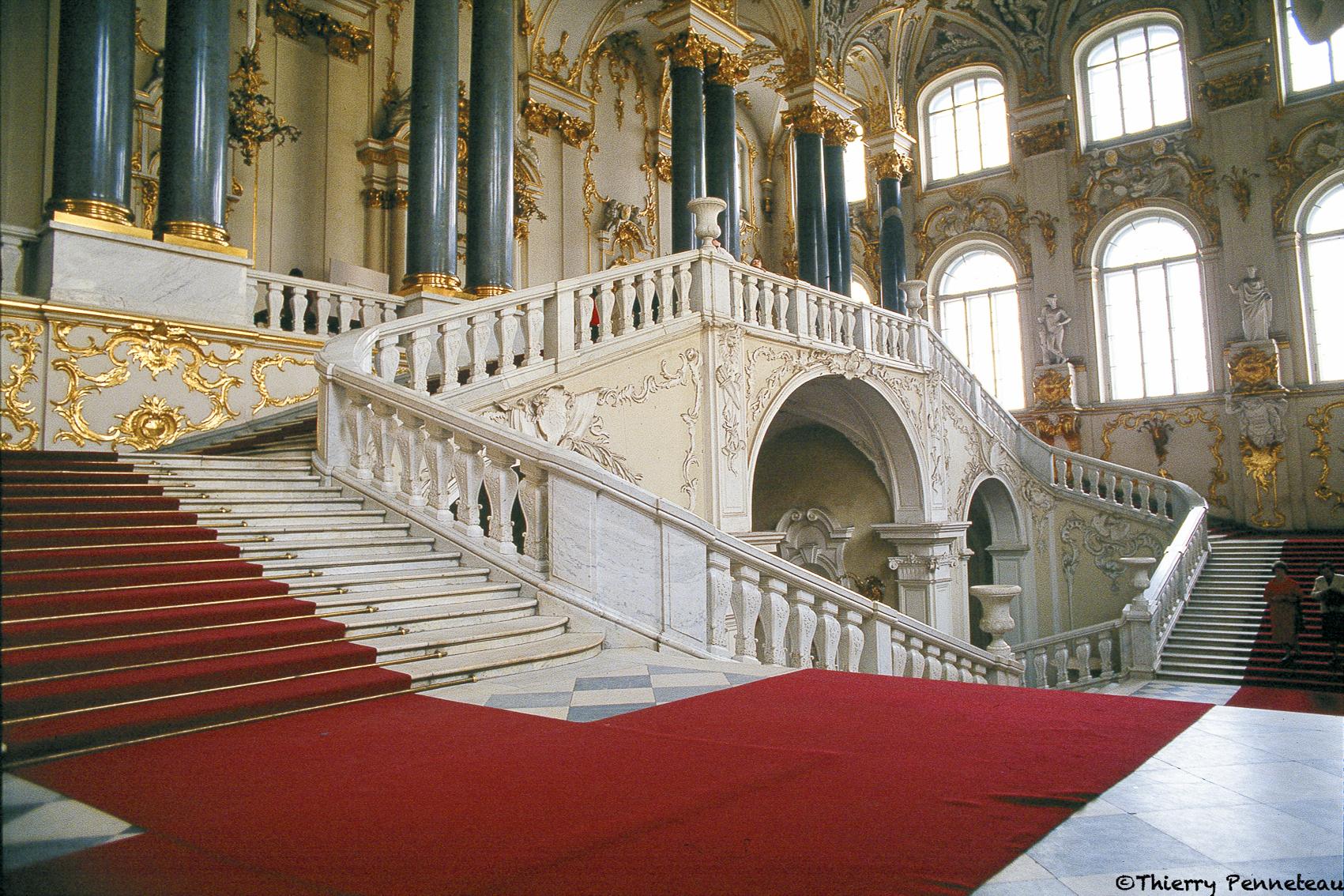 Escalier Ermitage
