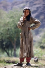 Manakha jeune fille