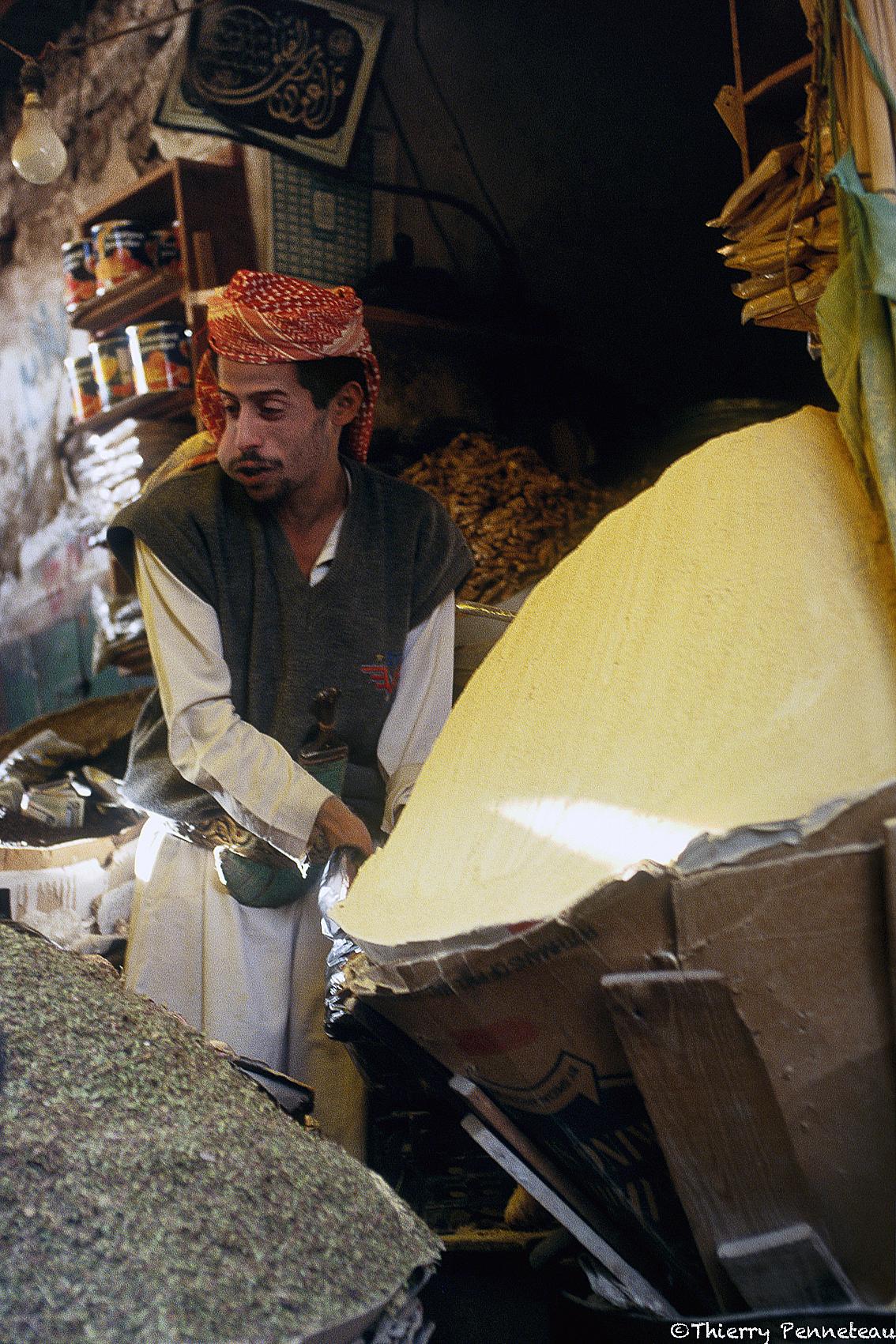 Sana'a souk épice