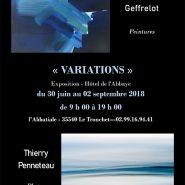 """"""" Variations """" Hôtel de l'Abbaye 35540 Le Tronchet"""